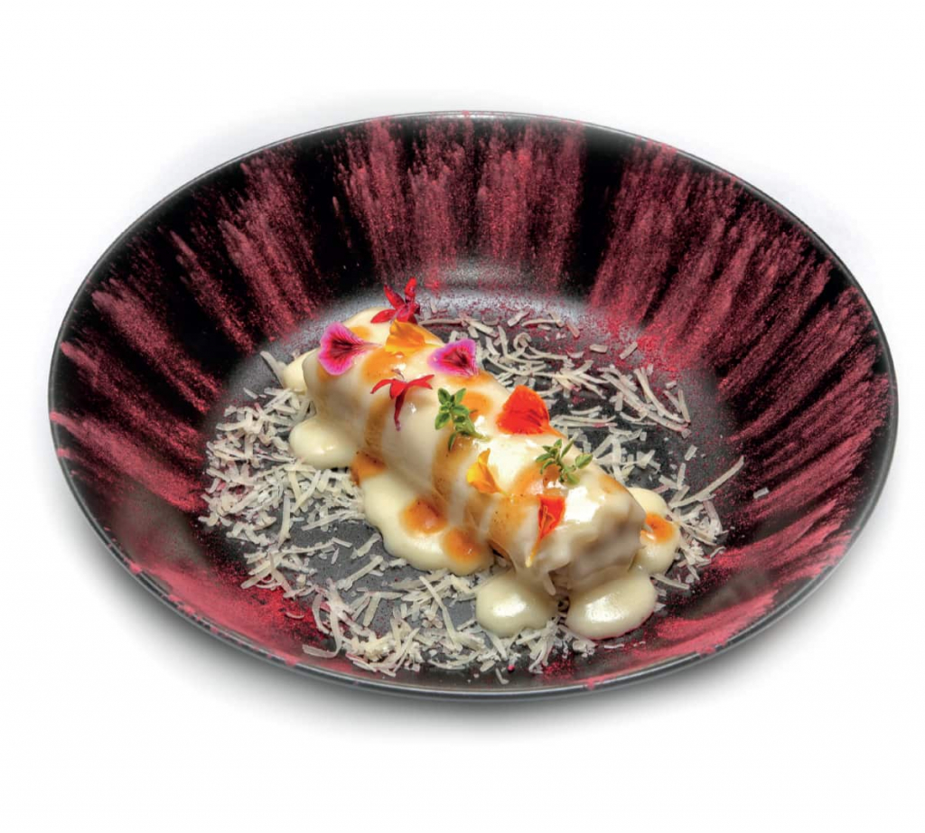 Recipe of chicken and truffle cannelloni